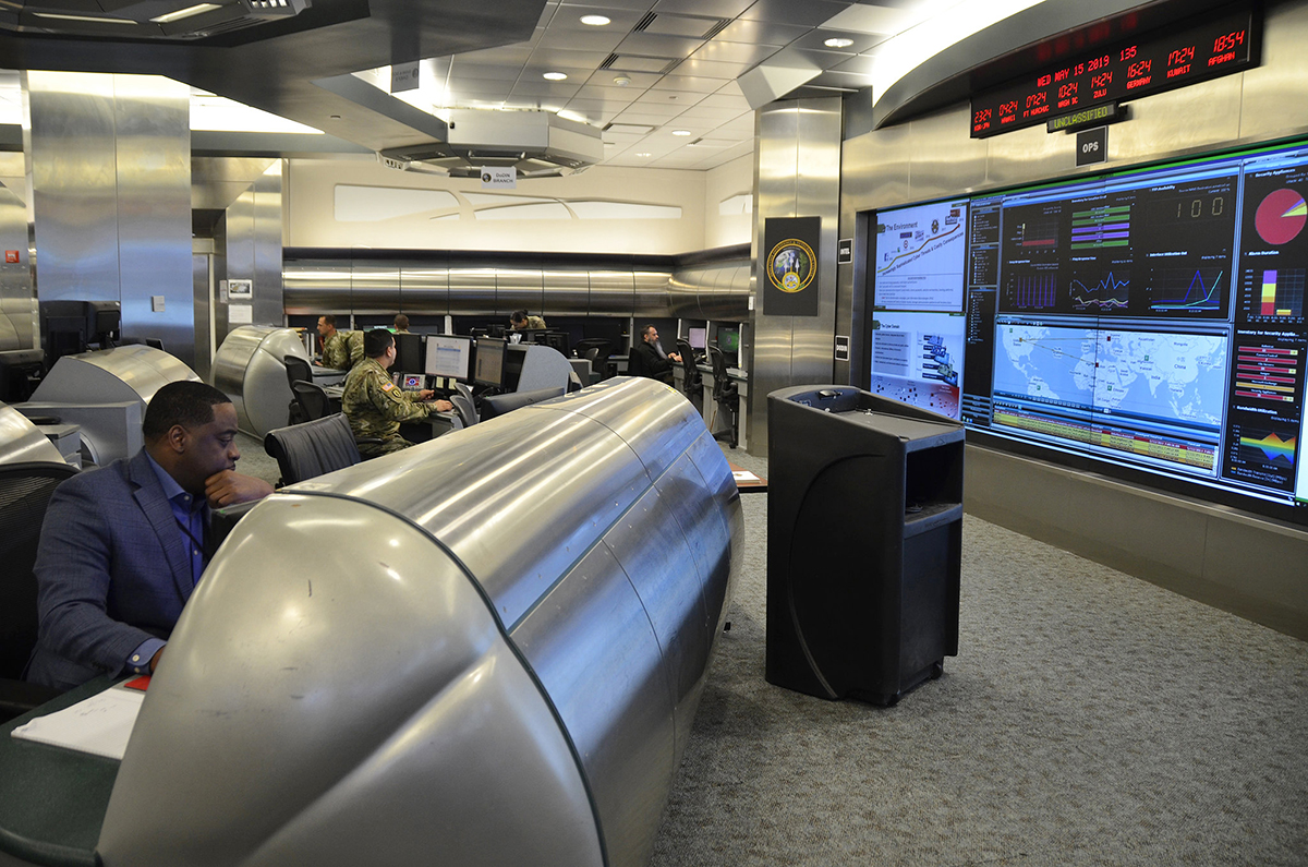 Штаб киберкомандования армии США в Вирджинии