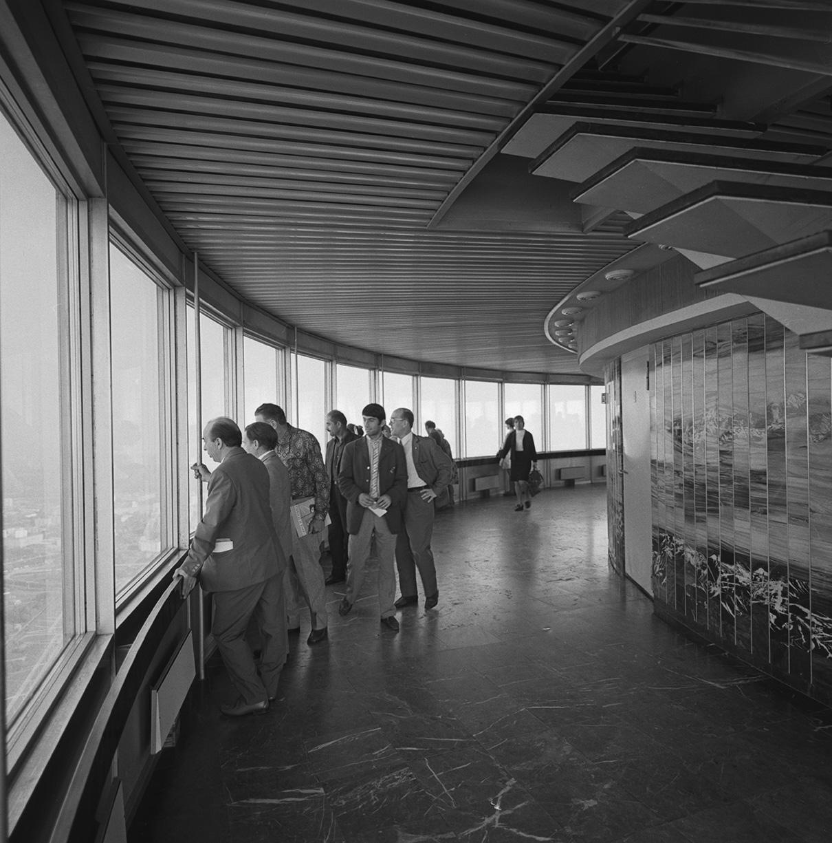 За 50 лет Останкинскую башню посетили более 10 млн человек