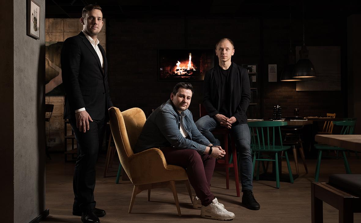 Игорь Санников, Алексей Головин и Евгений Чечеткин (слева направо)