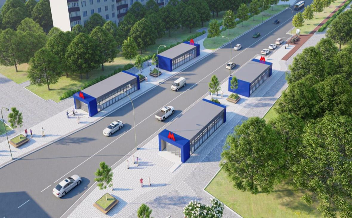Проект станции метро «Гольяново»