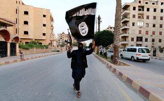 Член организации «Исламское государство»  Архивное фото