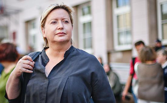 Российская журналистка Ольга Романова