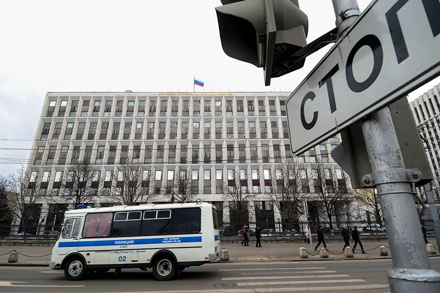 Здание МВД вМоскве