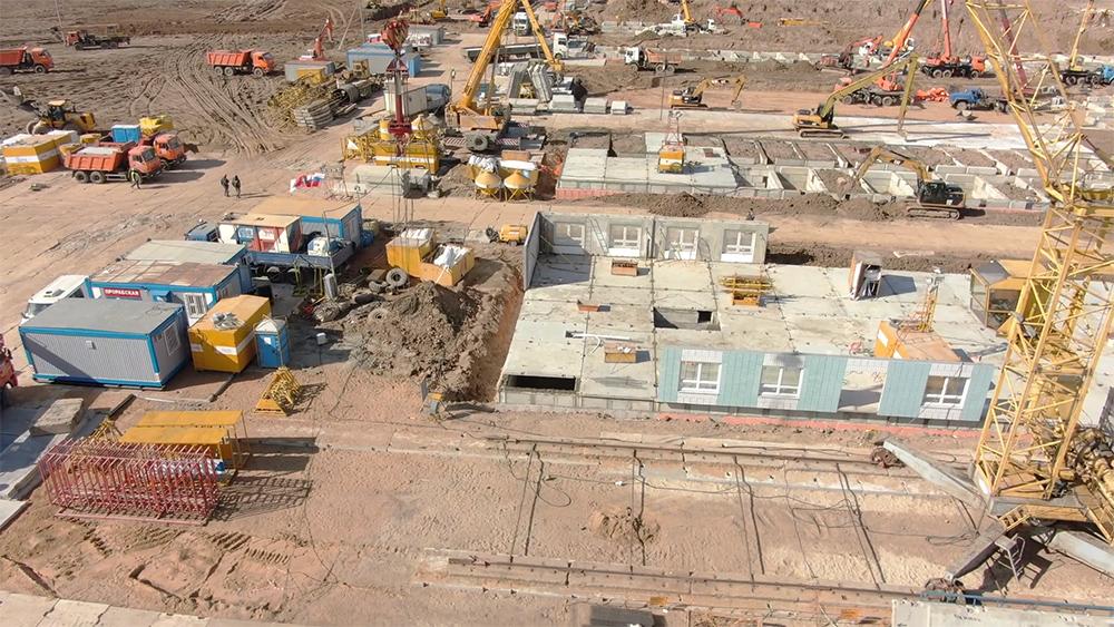 Строительство общежитий для медперсонала