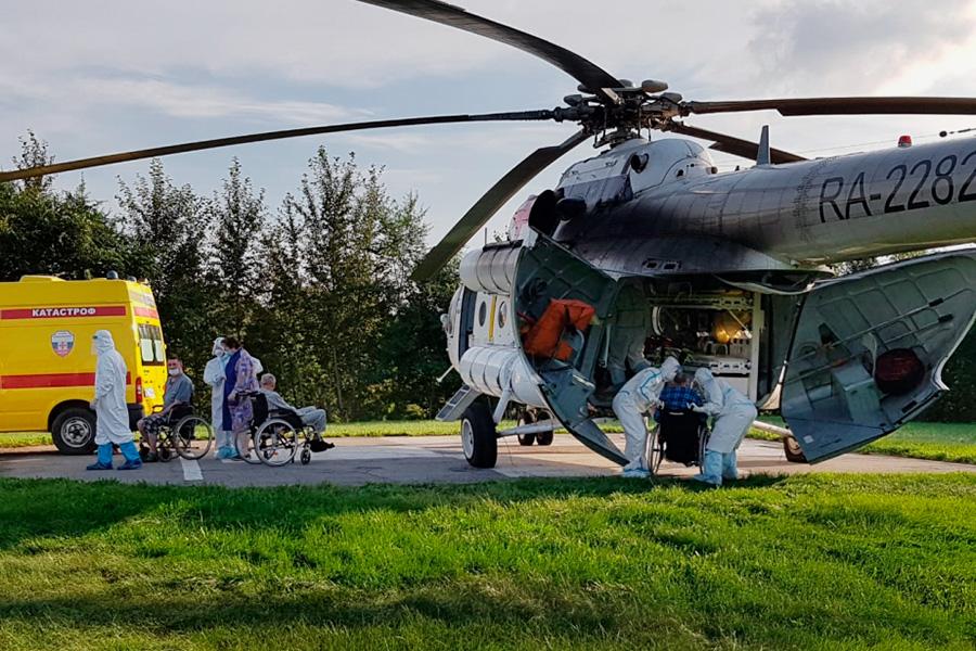Транспортировка постояльцев Комсомольского-на-Амуре дома-интерната для престарелых и инвалидов в Хабаровск