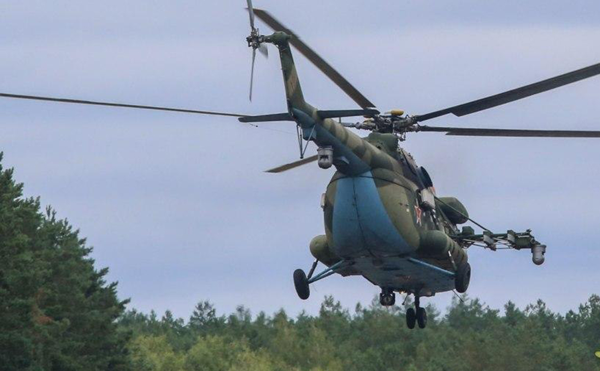 Белорусский вертолет Ми-24