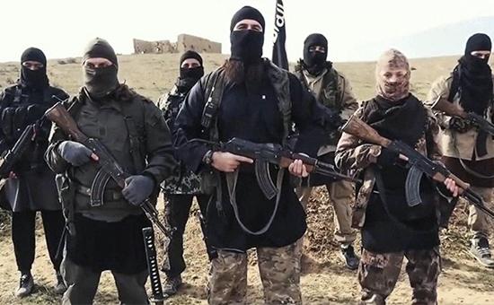 Боевики террористической организации «Исламское государство» всирийском городе Ракка