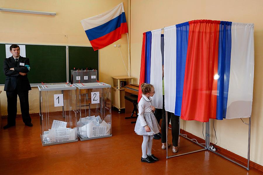 Единый день голосования в Гвардейске Калининградской области