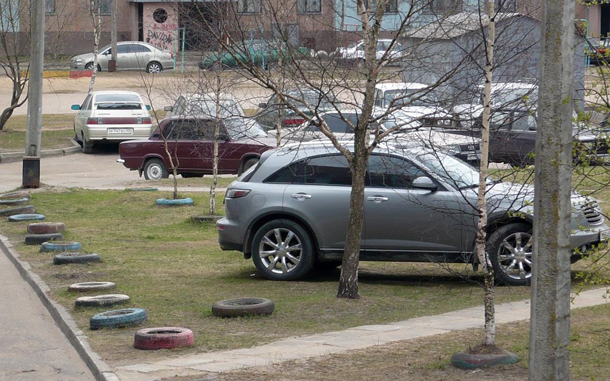 <p>Самый простой способ обезопасить себя от штрафов за парковку на газоне&nbsp;&mdash; не вставать на газоне!</p>