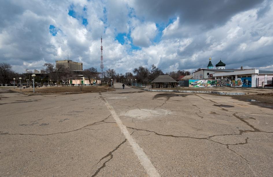 Астрахань. Парк «Аркадия»