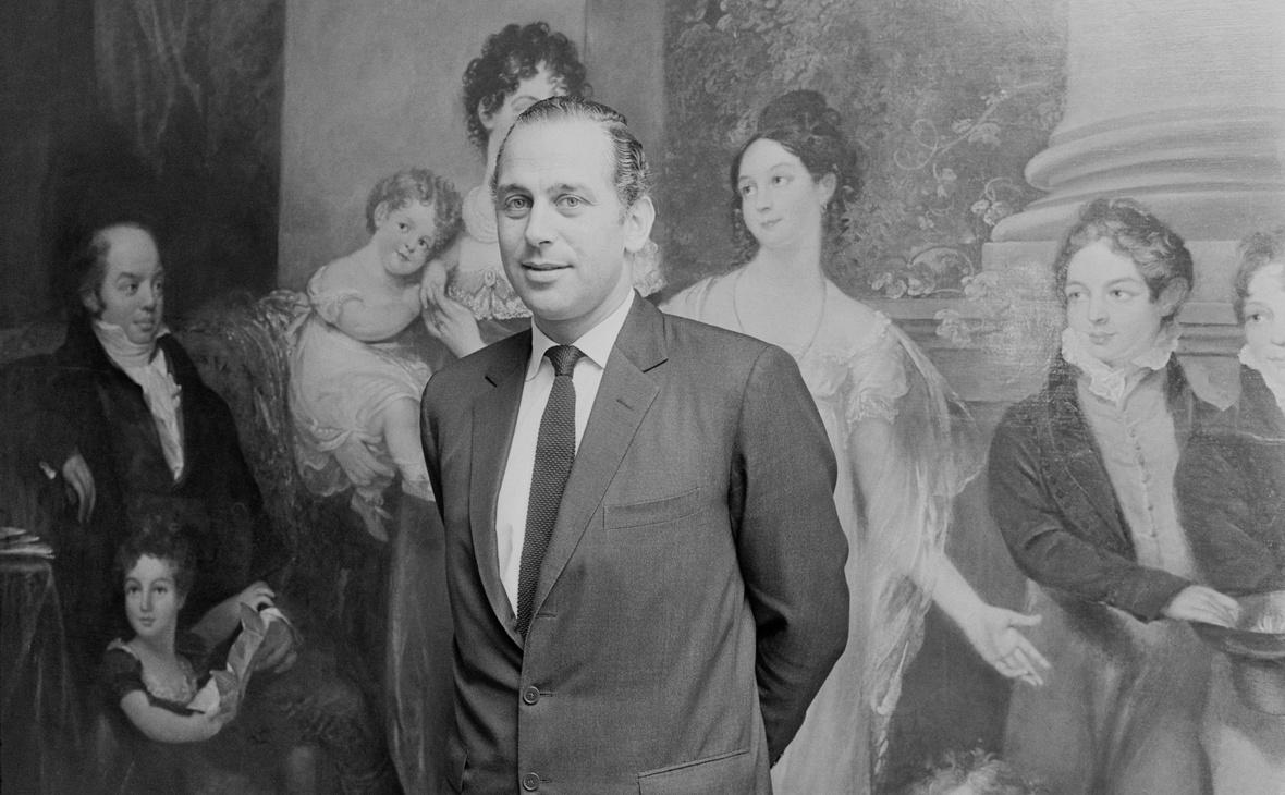 Сэр Эвелин де Ротшильд, главa лондонского отделения семейного банка N M Rothschild & Sons до 2003 года