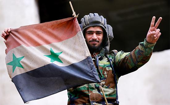 Танкист сирийской армии
