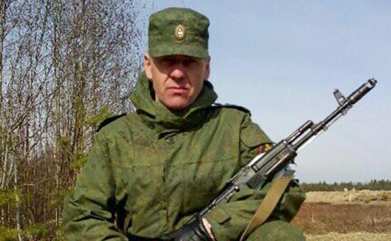 Старший сержант Владимир Марчуков