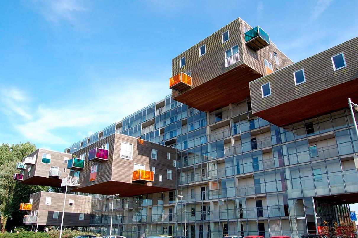 ЖК WoZoCo в Амстердаме