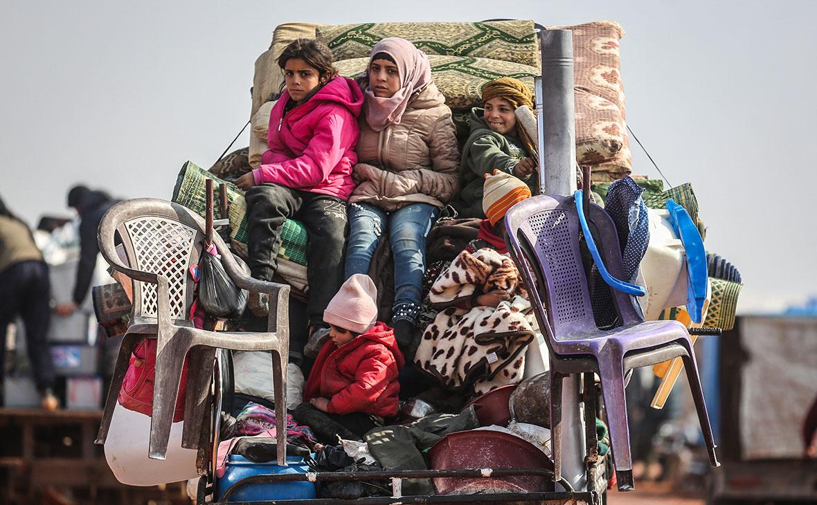 Мирные жители Сирии