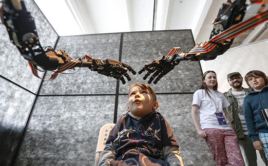 Научно-популярная выставка «Бал роботов» вМоскве