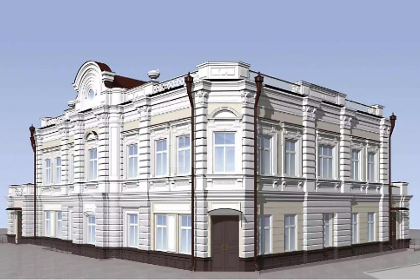 Особняк находится на углу улиц Ленина и Перекопской