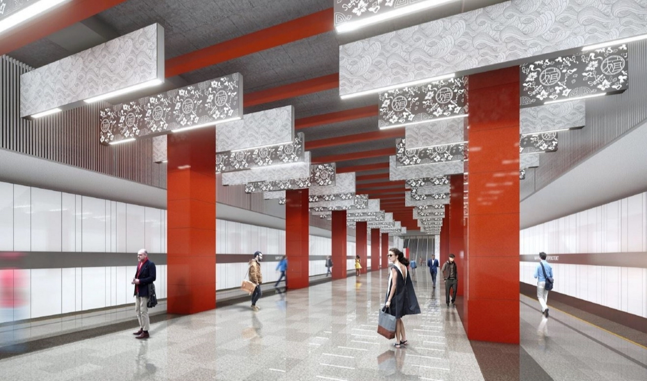 Проект станции «Мичуринский проспект»