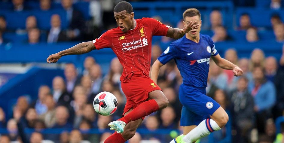 Матч «Ливерпуль» — «Челси» в чемпионате Англии по футболу