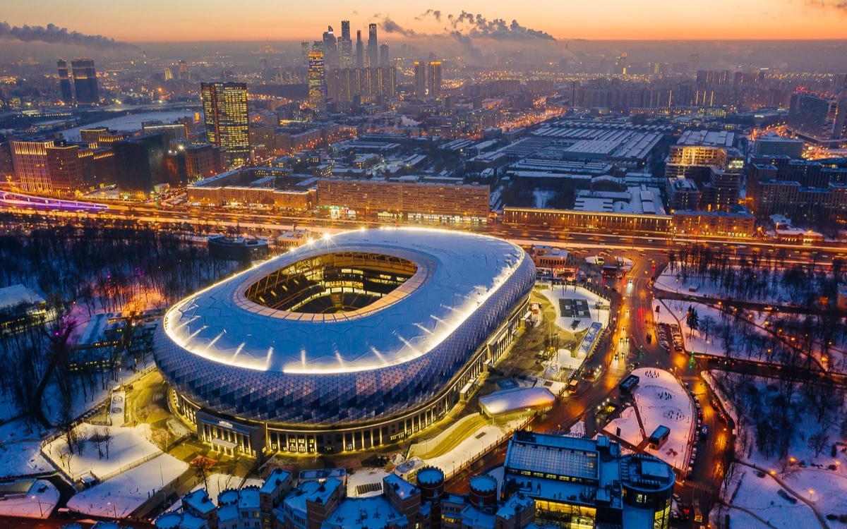 Вид на «ВТБ Арена»