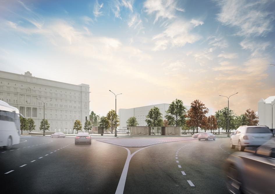 Лубянская площадь втом виде, вкотором она задумана, должна стать новой визитной карточкой Москвы, уверены в«КБ Стрелка»