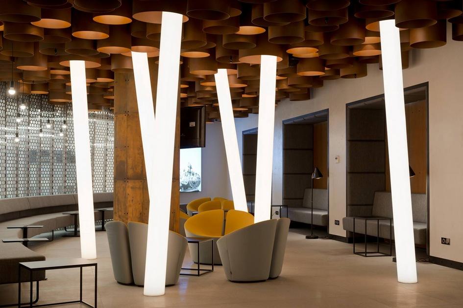 Номинация «Светодизайн» Второй победитель: аэропорт Стригино, бизнес-зал / архитектурное бюро Nefa Architeсts
