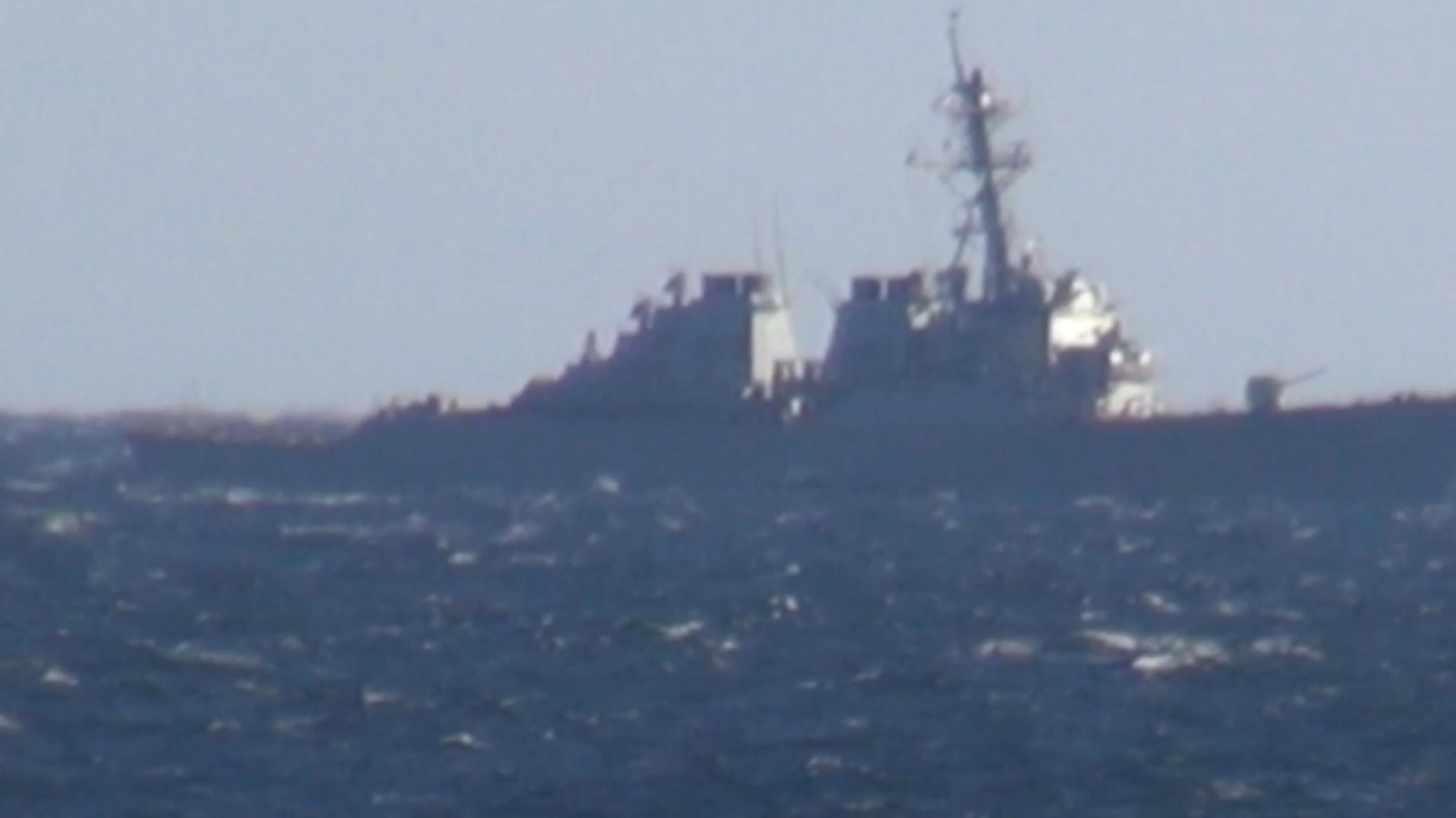 Немцы оценили заход американского эсминца в российские воды