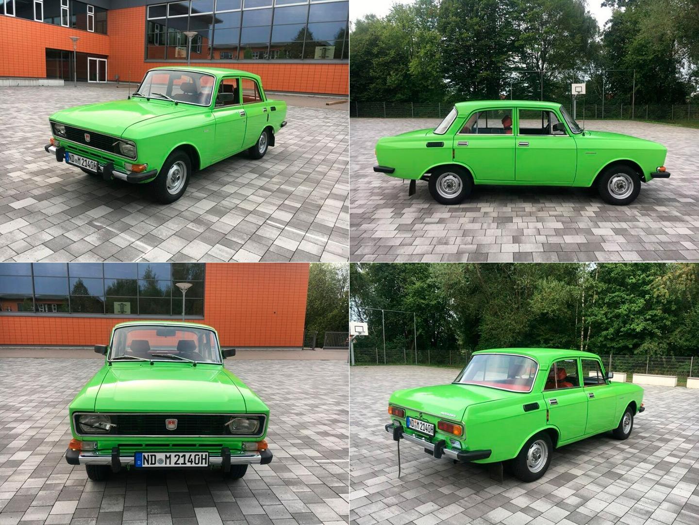 «Москвич-2140» в Баварии