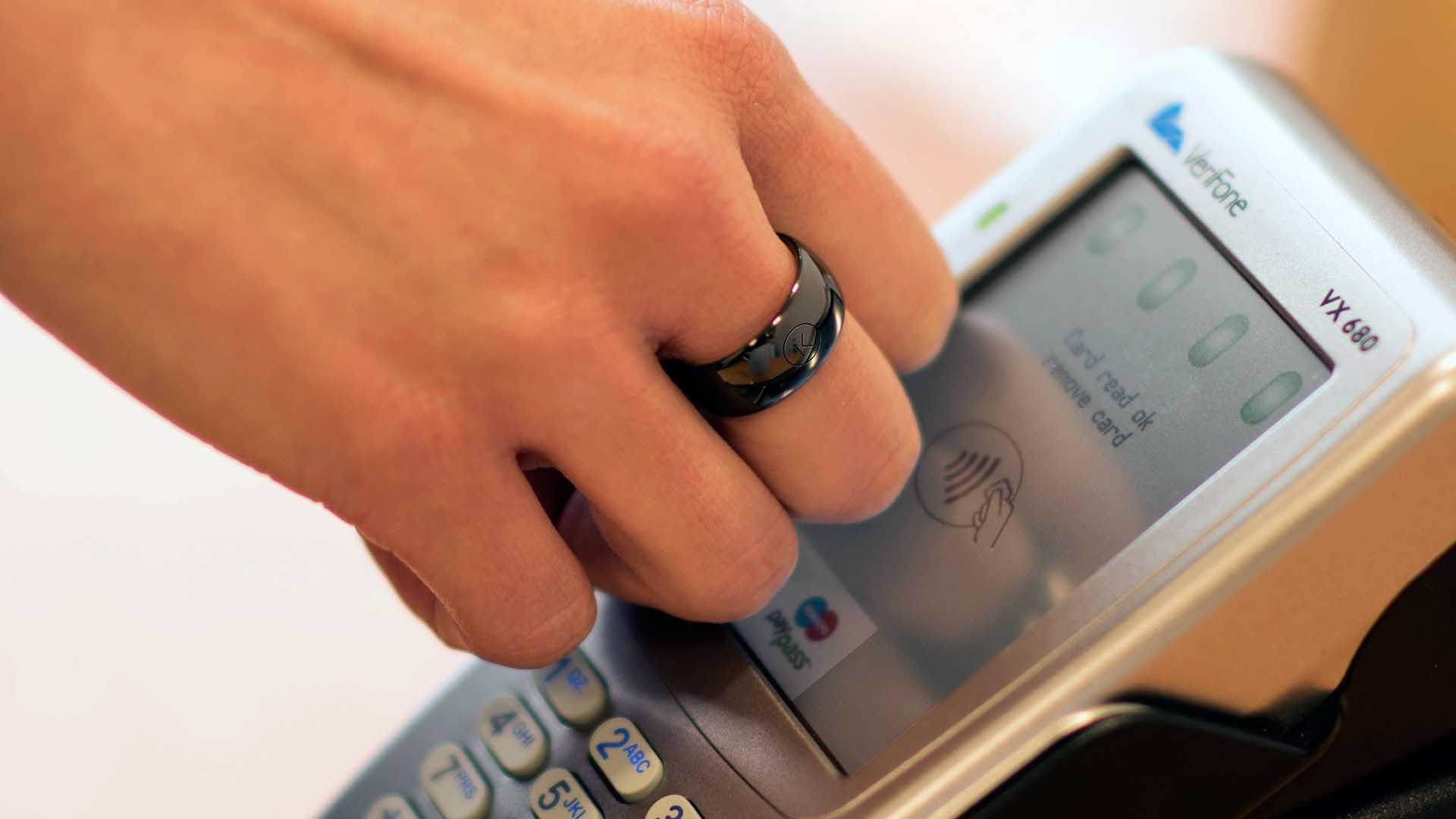 «Умное» кольцо с NFC