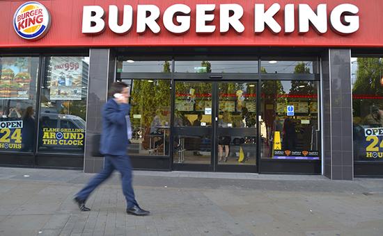 Ресторан Burger King в Манчестере, Великобритания