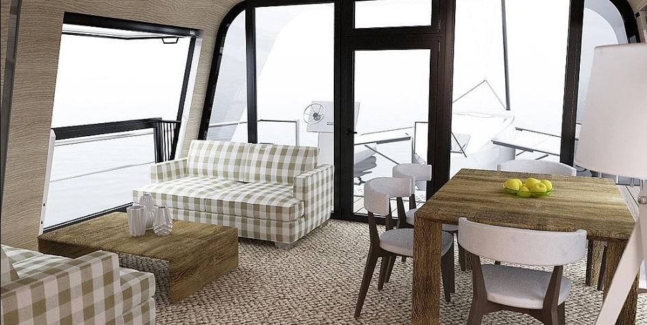 Фото:Yacht design studio of Max Zhivov