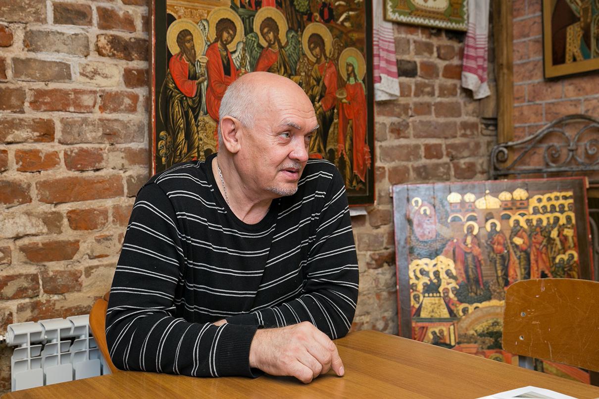 Основатель волонтерского движения «Том Сойер Фест» Владимир Кобзарь