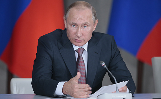 Рабочая поездка президента России Владимира Путина вКрымский федеральный округ