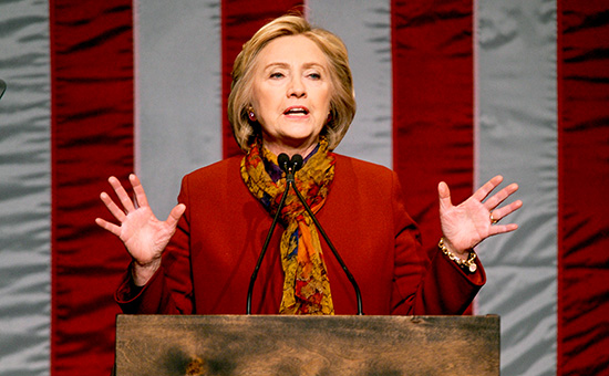 Экс-госсекретарь СШАХиллари Клинтон