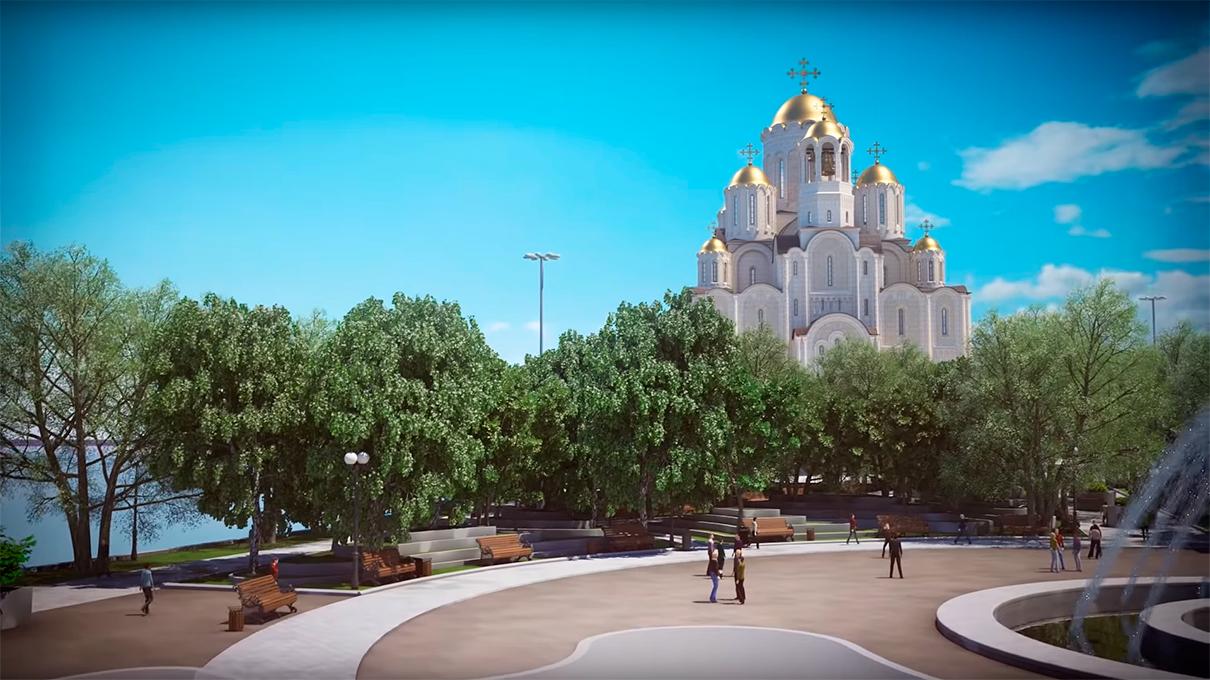Фото:кадры из видеообращения митрополита Екатеринбургского и Верхотурского Кирилла