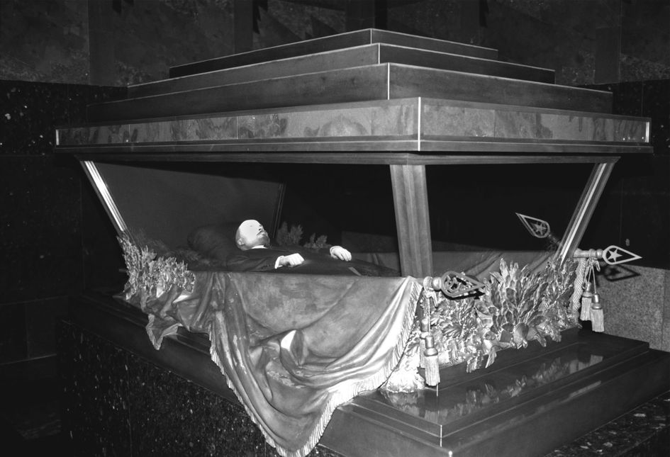 Новый саркофаг Ленина