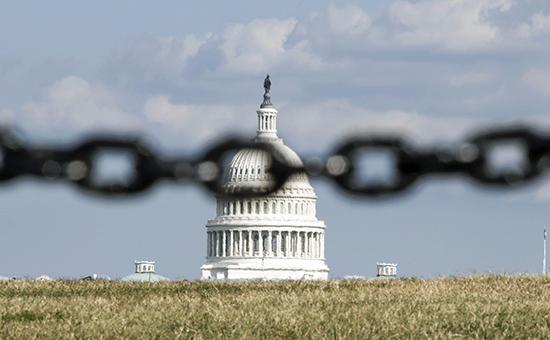 Здание «Капитолия», вкотором проводит свои заседания конгресс США