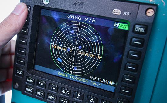 Навигационный прибор российской системы космической навигации ГЛОНАСС
