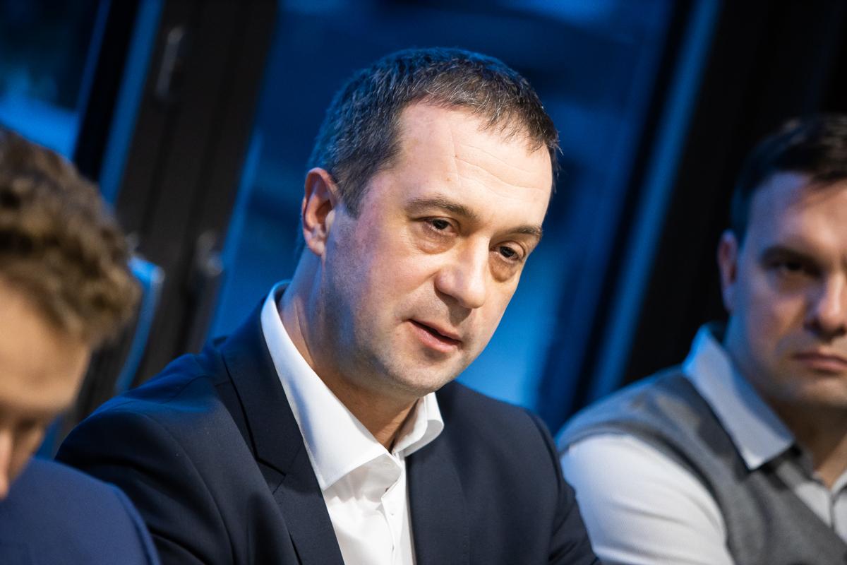 Фото:Заместитель председателя правления КБ «Энерготрансбанк» Дмитрий Красюк
