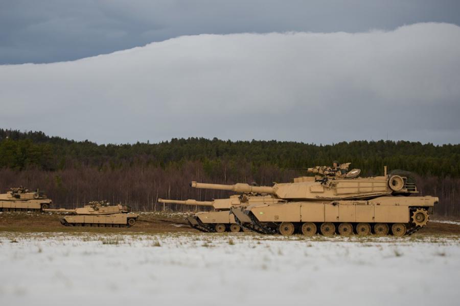 Основной боевой танк США M1 Abrams