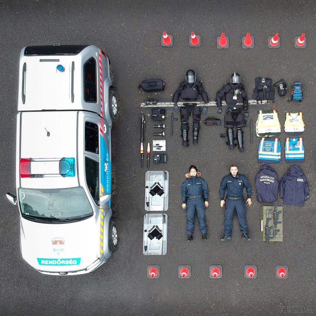Дорожный патруль в Венгрии