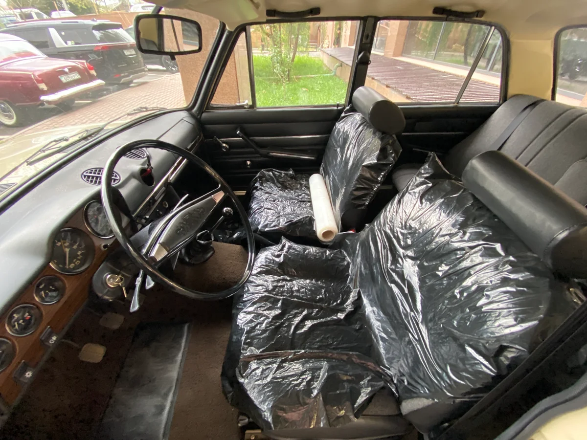 Владелец отметил, что автомобильхранили в сухом гараже с 1987 года