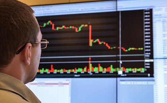 Работа Московской биржи, архивное фото