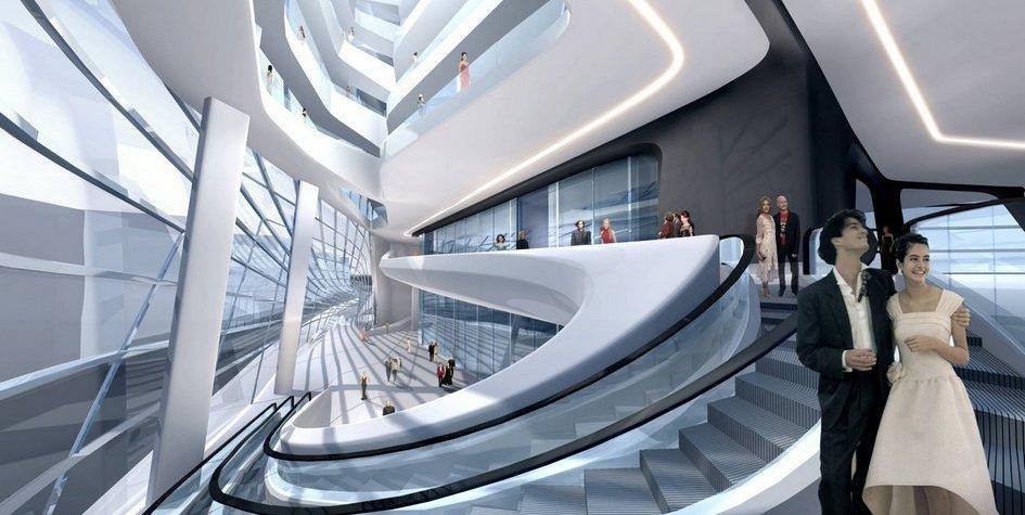 Фото:Zaha Hadid Architects