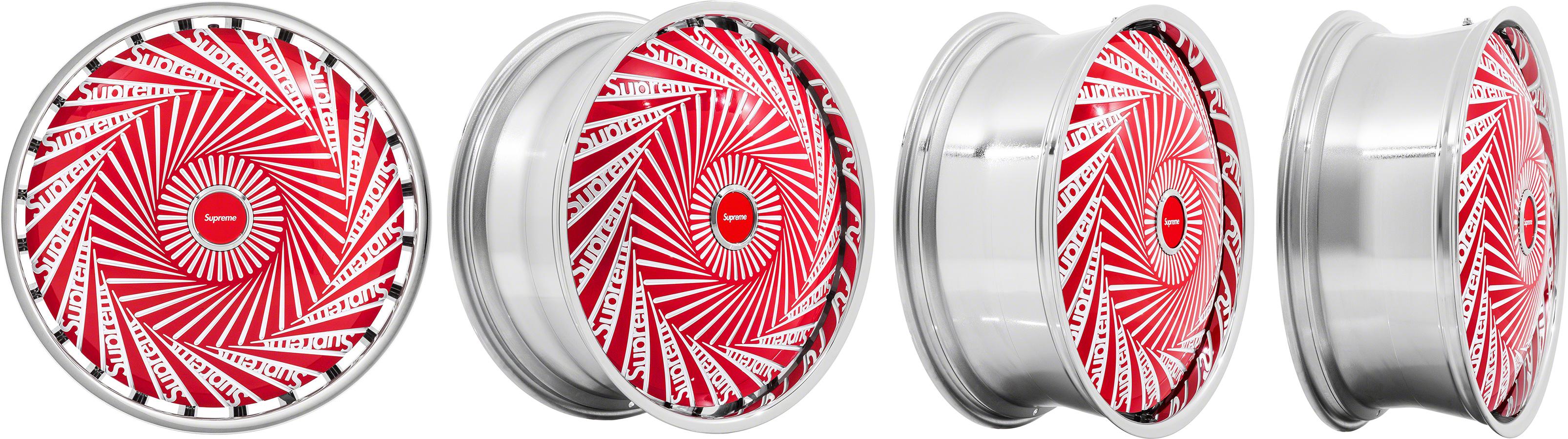 Бренд Supreme изобрел диски-спиннеры для машин Rolls-Royce