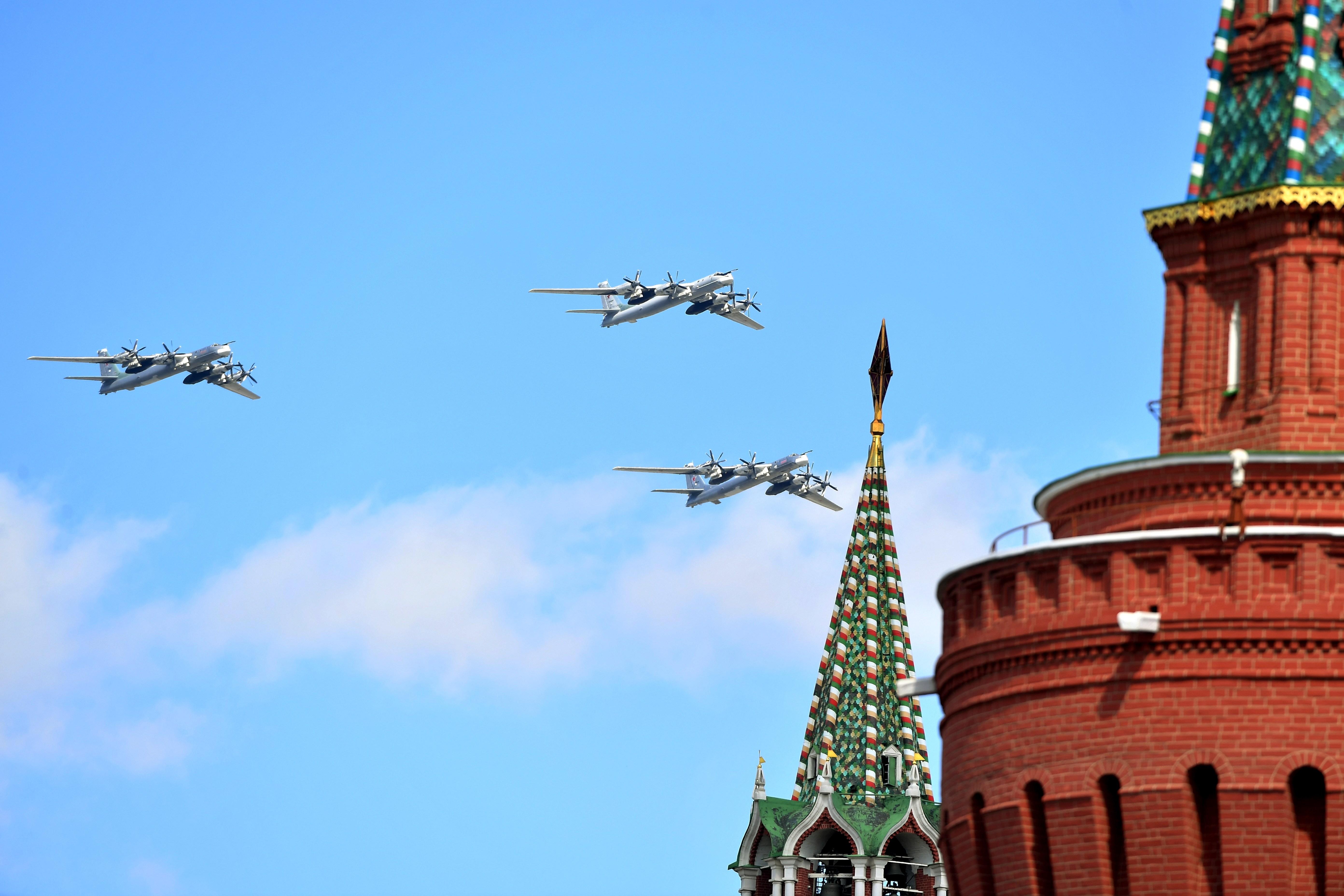 Стратегические бомбардировщики Ту-95МС