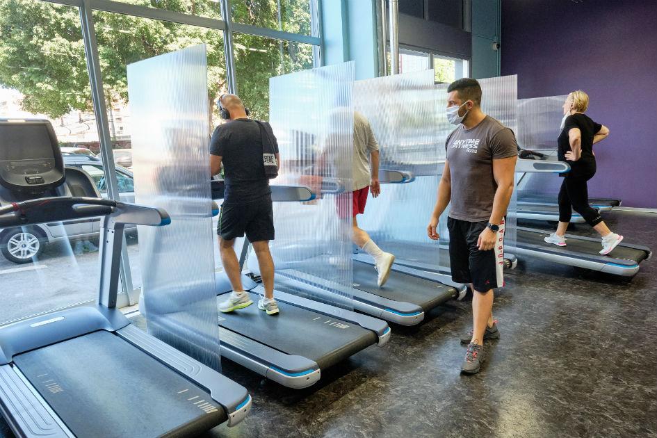 Открытие фитнес-центров после пандемии