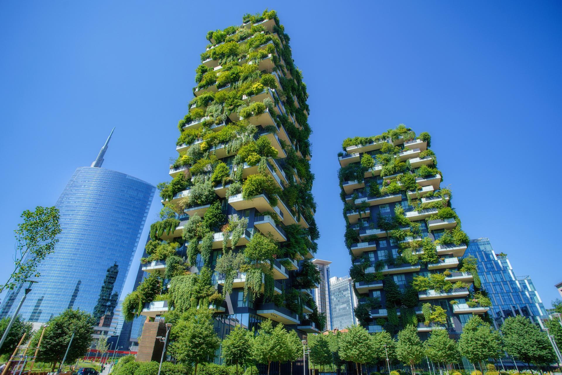 Проект Bosco Verticale в Милане