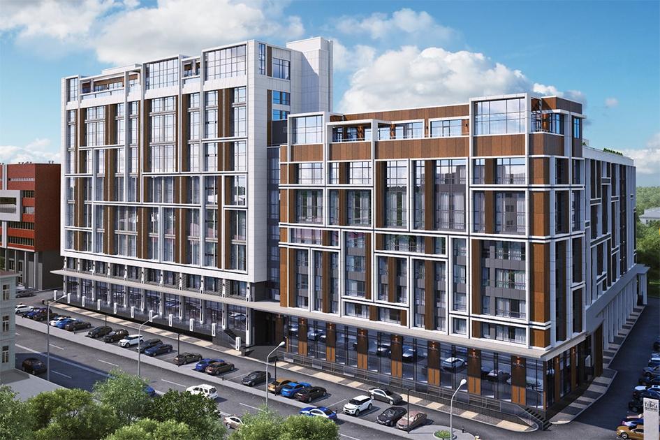 Особая отметка жюри вноминации «Лучший комплекс апартаментов вМоскве»: Tribeca Apartments  Девелопер: Stone Hedge