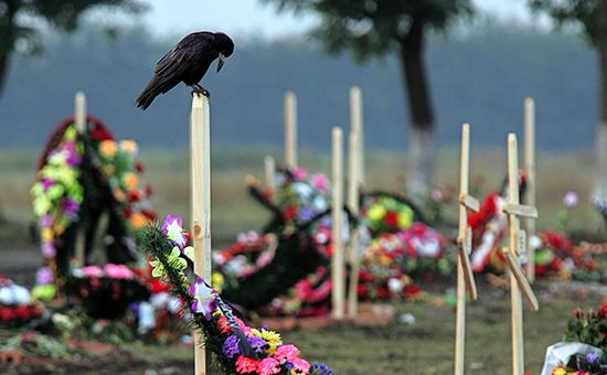 В России предложили создать частные кладбища